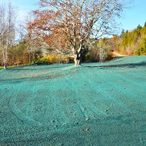 Hydroseeding Lawn Growth Sioux Falls